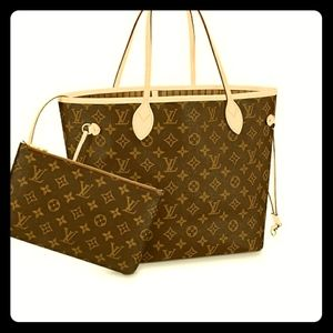 *ISO* Louis Vuitton Neverfull MM w/ POUCH
